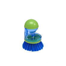 Custom Made Hot Selling Plastic Mini Cleaning Soap Pot Brush